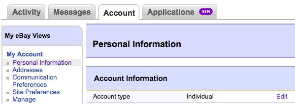 Setting Up An Ebay Business Account Webinterpret Help Center Support