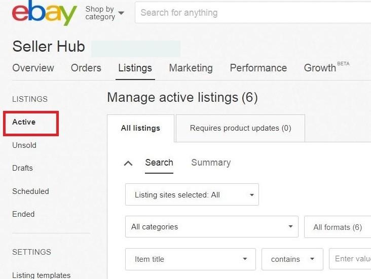 How To Filter My International Listings In My Ebay Webinterpret Help Center Support